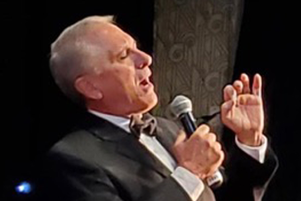 Tony Sands Starring In Sinatra The Musical