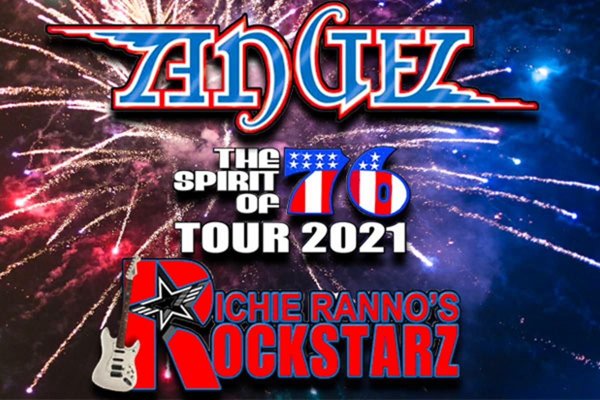 Spirit Of '76 Tour With Angel & Richie Ranno's Rockstarz