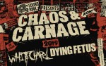 Image for Chaos and Carnage Tour 2019 w/ Whitechapel