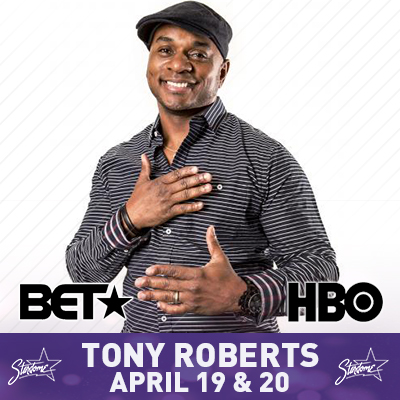 Tony Roberts from Showtime and BET's Comic View -