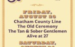Image for Be Loud! '19, with Chatham County Line, The Old Ceremony, The Tan & Sober Gentlemen, Alive at 27