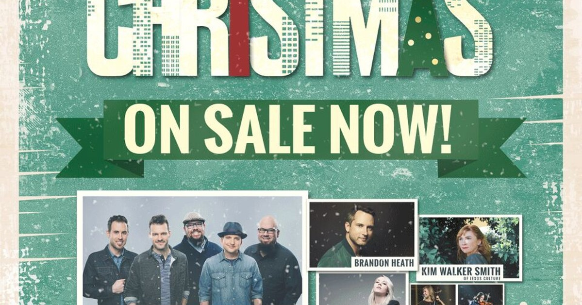 KLOVE CHRISTMAS TOUR at Warnors Theatre on Dec 4, 2018 7:00 PM