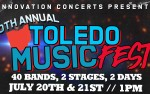 Image for Toledo Music Fest w/ ISSUES, Like A Storm, Through Fire, and more