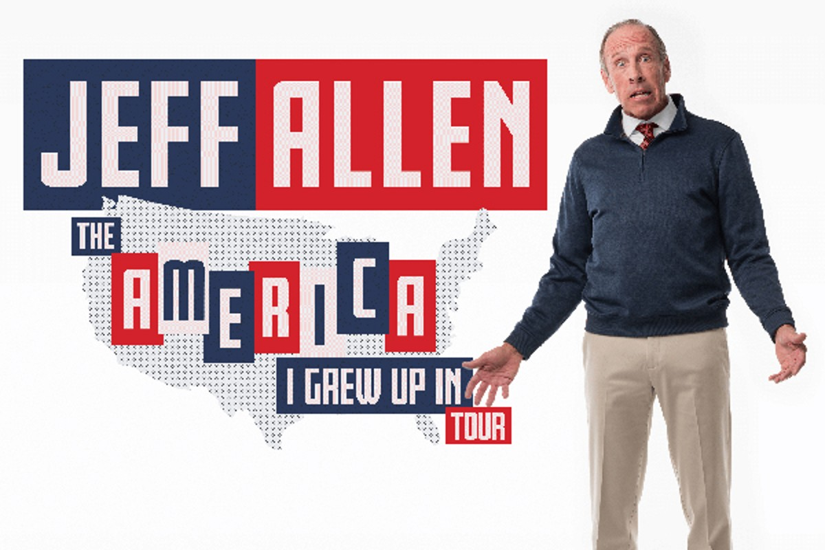 Jeff Allen: The America I Grew Up In  (2 PM)