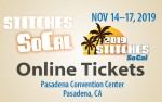 Image for STITCHES SoCal;  Market Admission, Nov. 15-17, 2019