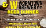 Image for Wormtown Beer Dinner