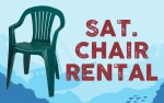 Image for Clearwater Sea-Blues General Admission CHAIR RENTAL - Saturday