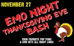 Image for EMO NIGHT:  Thanksgiving Eve Bash