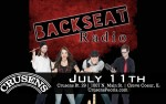 Image for Rescheduled from 4/10: Backseat Radio