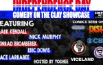 Image for Indepedence Day Comedy on the Clay Showcase