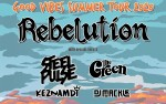 Image for GOOD VIBES SUMMER TOUR 2020: Rebelution Ticket+Merch Bundle Package