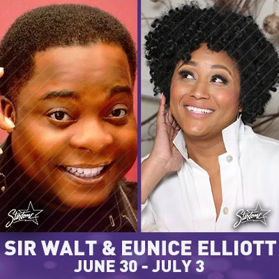 Sir Walt and Eunice Elliot