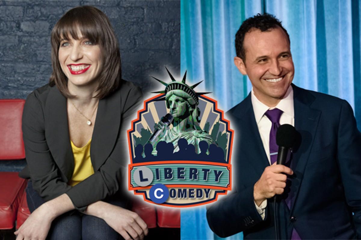 Liberty Comedy st. Ophira Eisenberg & Tony Deyo