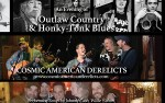 Image for An Evening Of Honky Tonk Blues & Outlaw Country Ft. Cosmic American Derelicts