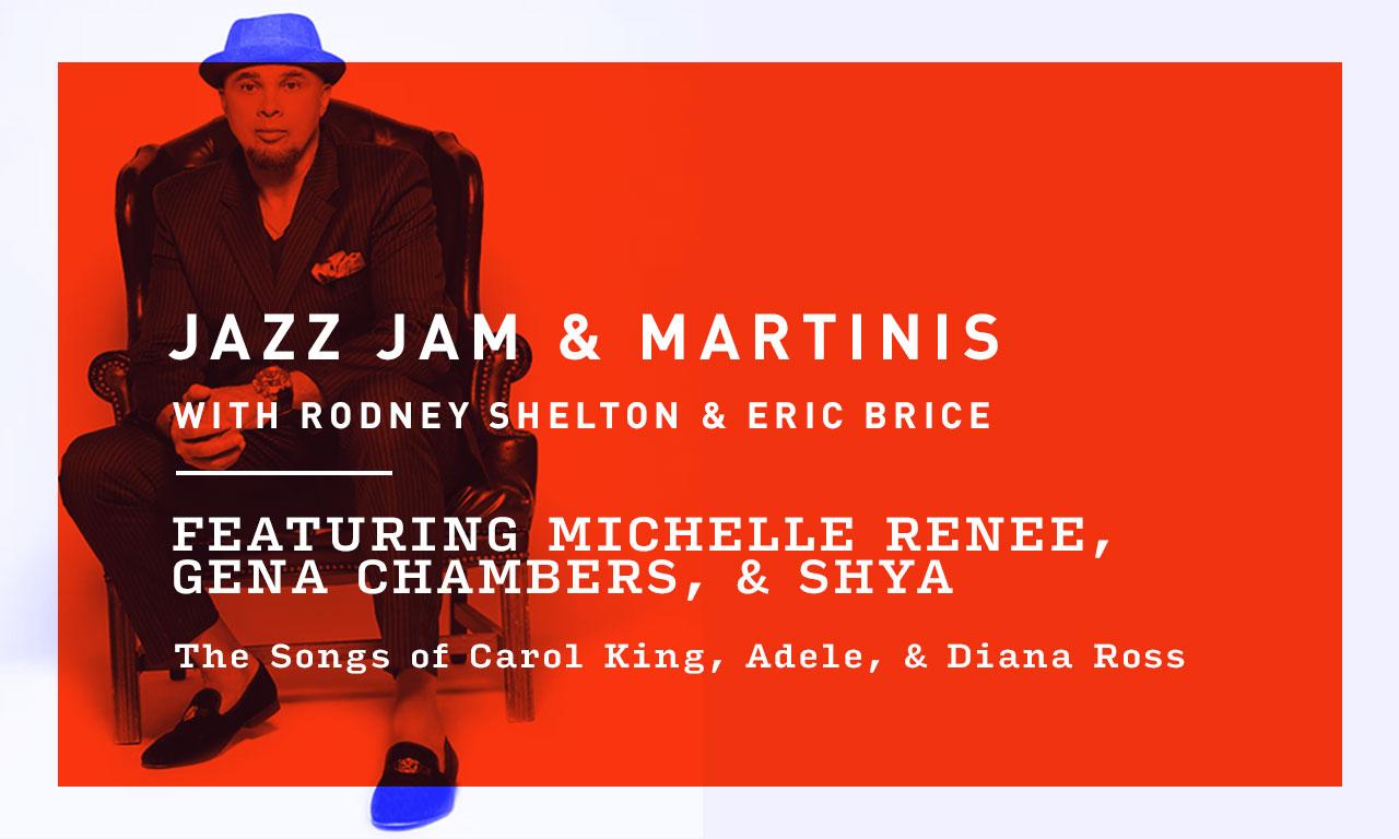 Thursday Night Jazz Jam and Martinis with Rodney Shelton