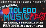 Image for Toledo Music Fest - Day 2 w/ Like A Storm, Through Fire, and more