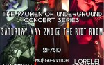 Image for IGUKC Presents: The Women of Underground Concert Series Ft: Lorelei Dreaming, Iya Toyah, and Morgue Witch