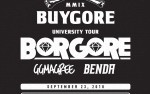 Image for BORGORE:  BGU – Buygore University Tour featuring Borgore, GG Magree, Benda, DJ Knowledge