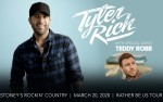 Image for Country AF Radio presents Tyler Rich with special guest Teddy Robb