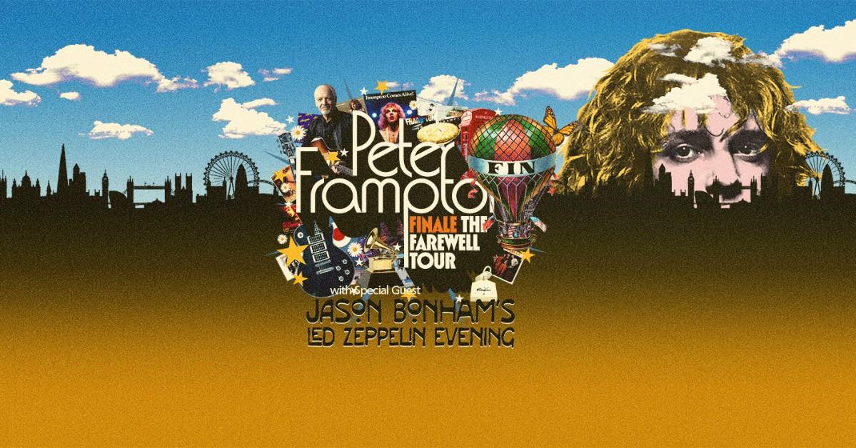 Peter Frampton Jason Bonham At Sandia Casino Amphitheater On Sep
