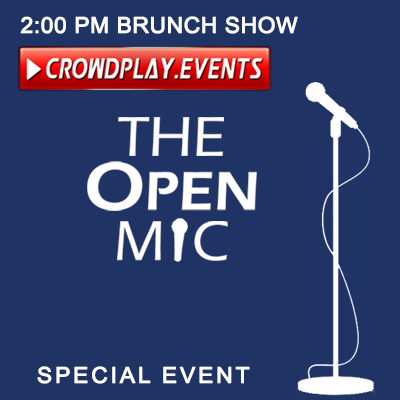 The Open Mic (Special Event) by CrowdPlay.Events 2019