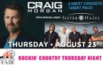Image for Craig Morgan with Sister Hazel – Two Great Concerts for One Amazing Price!