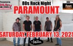 Image for Paramount: 80's Rock Night