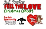 Image for B.C. TAYLOR - FEEL THE LOVE CHRISTMAS CONCERT
