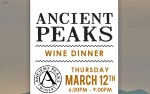 Image for Ancient Peaks Wine Dinner