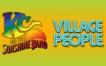 Image for KC & THE SUNSHINE BAND with special guest THE VILLAGE PEOPLE