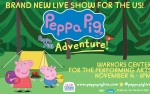 Image for Peppa Pig Live! Peppa's Big Adventure!