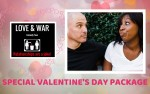 Image for VALENTINES DAY COMEDY SHOWCASE FOR 2 - Love & War ALL INCLUSIVE!  Price is for 2 people