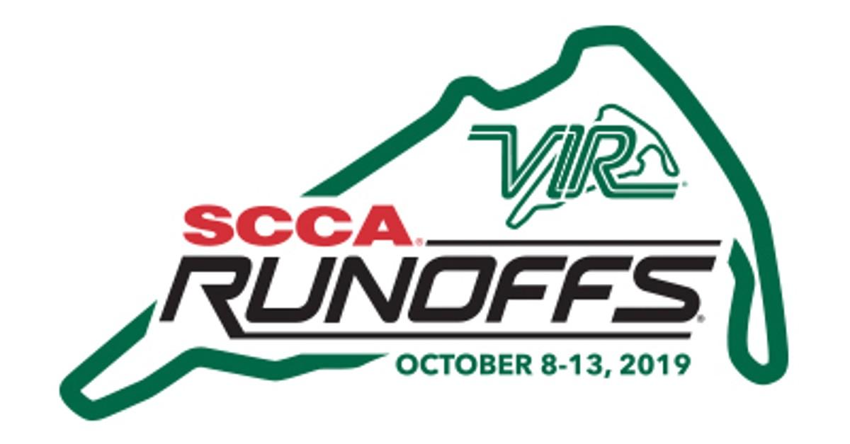 SCCA Runoffs *3-Day Ticket* October 4-6, 2019 at Virginia