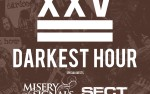Image for Darkest Hour with Misery Signals, Sect *NEW RESCHEDULED DATE*