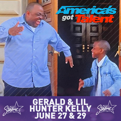 Gerald and Little Hunter Kelly