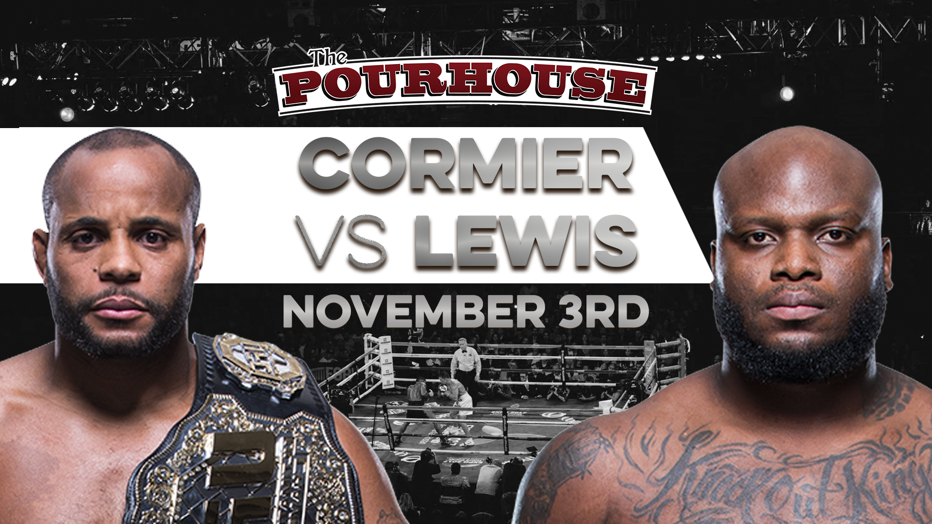 Image result for UFC 230: Cormier vs. Lewis