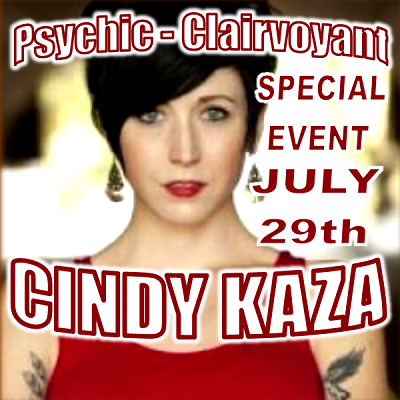 Cindy Kaza, Psychic Medium (Special Event)