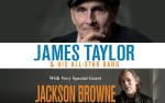 Image for James Taylor & His All-Star Band with Jackson Browne