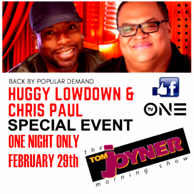 Huggy Lowdown & Chris Paul (Special Event)