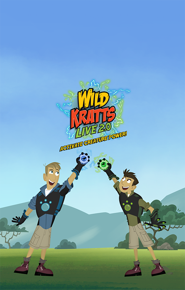 wild kratts live 2 0 activate creature power february 26
