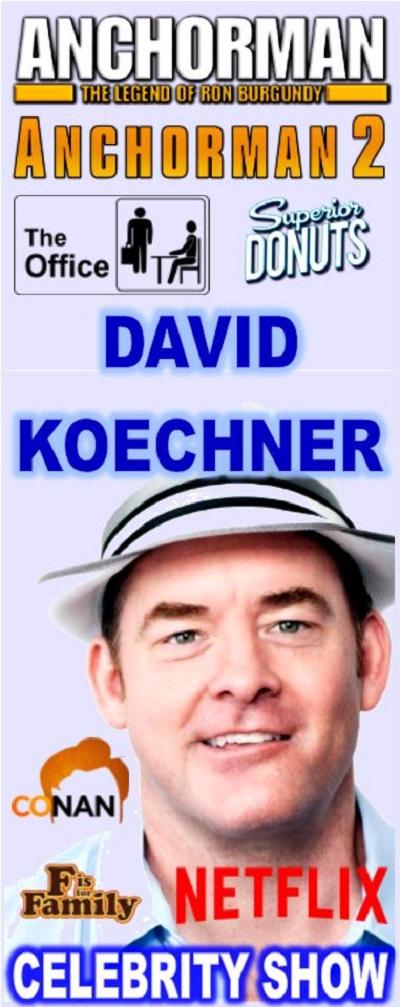 David Koechner (Celebrity Show) 2019