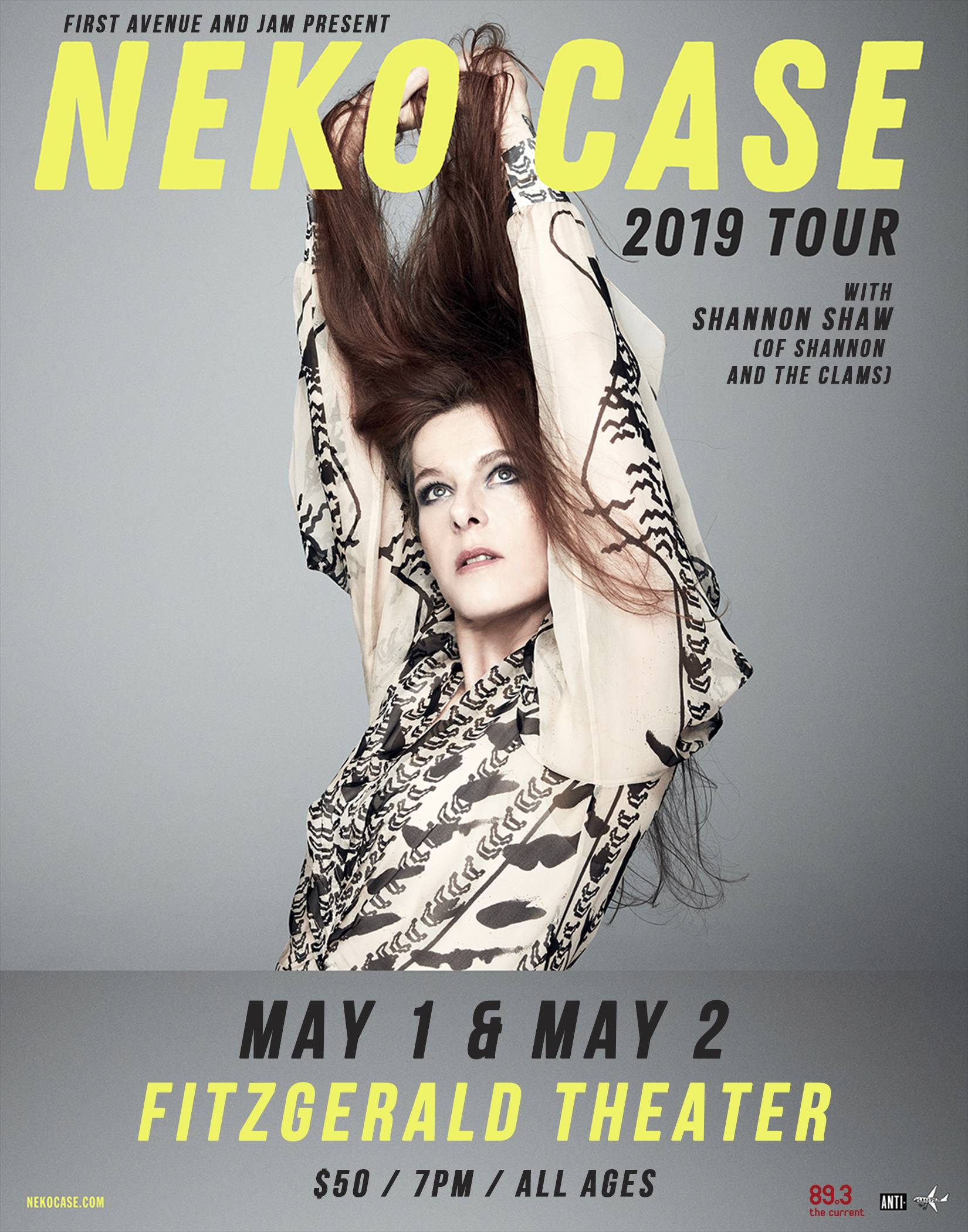 Neko Case With Special Guest Shannon Shaw Of Shannon And The Clams