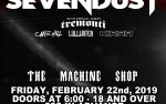 Image for SEVENDUST-Sold out