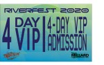 Image for RiverFest 4-Day VIP Package