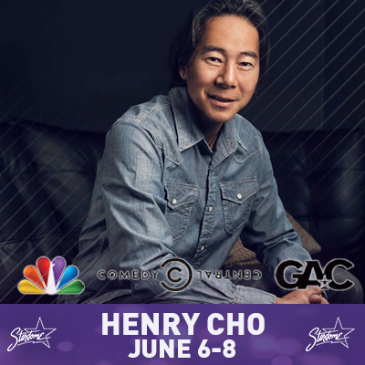 Henry Cho Clean Comedy – Jun 6-8