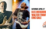 Image for Eric Gales & Walter Trout: Blues Underground w. Travers Brothership