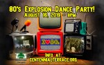 Image for 8th Annual 80's Explosion Dance Party -  21 & over, valid ID required