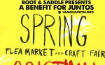 Image for SPRING FLEA MARKET & CRAFT FAIR, with Gristmill, Grave Bathers, Ruffin, Kint Sugi