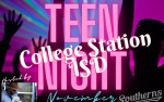 Image for College Station ISD Teen Night