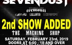 Image for SEVENDUST w/TREMONTI – 18+ SOLD OUT